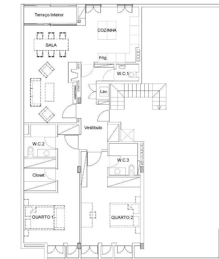 Apartamento T3+1 no Porto – Bonfim