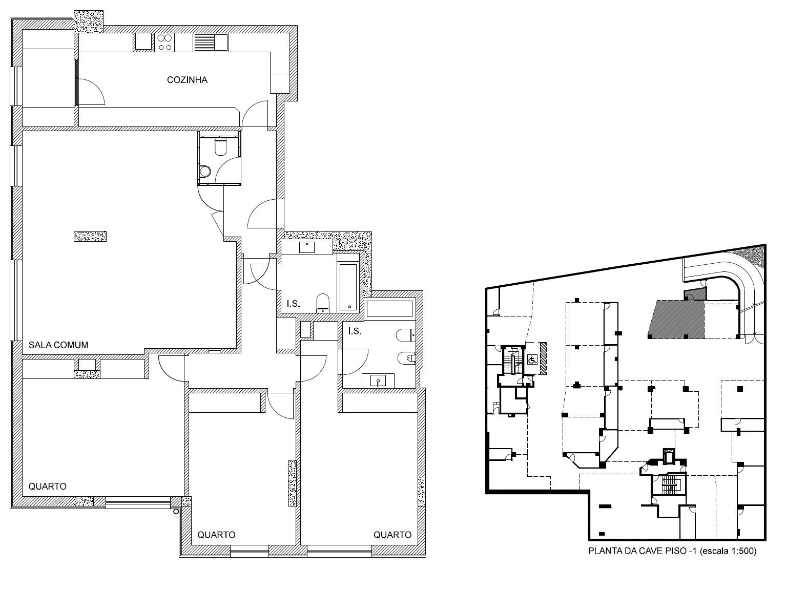 Pronto habitar Apartamento T3 na Boavista novo - Porto
